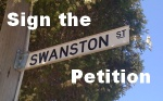 Sign the Swanston St Petition