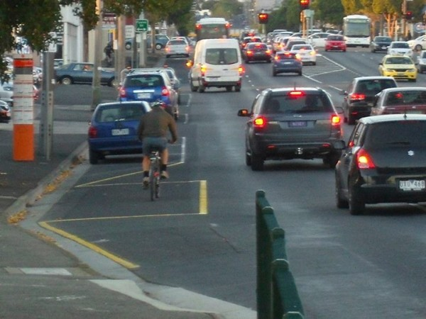 mooraboool st bike lane